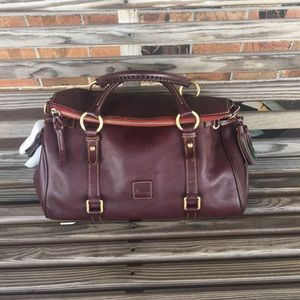 Dooney & Bourke PLUM Florentine Satchel